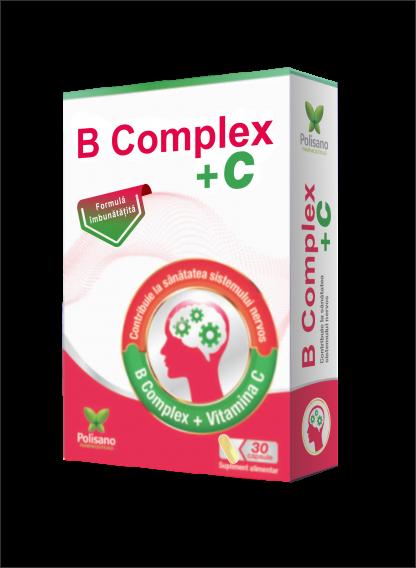 B Complex + C capsules